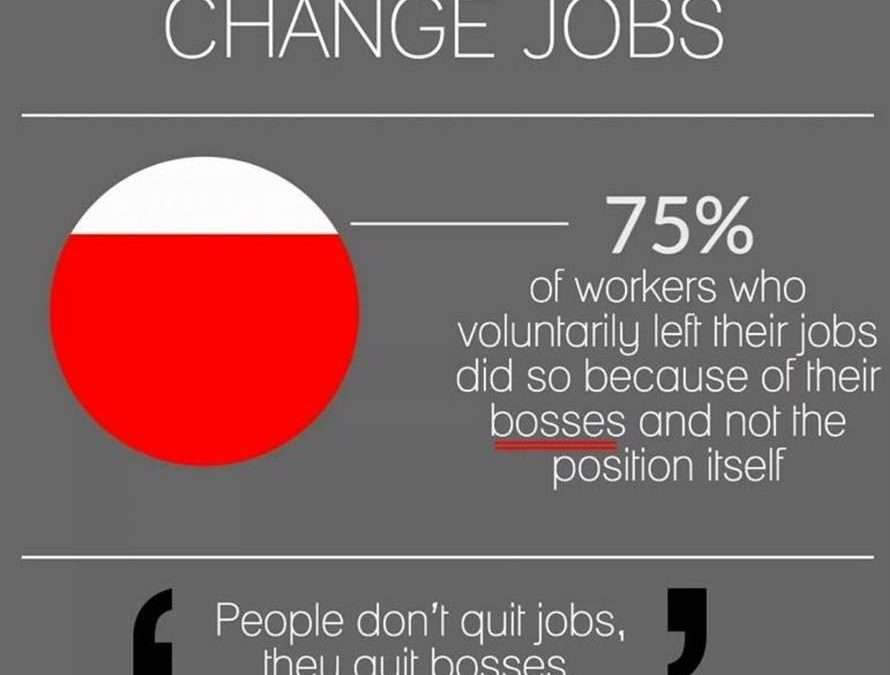 WHY DO PEOPLE CHANGE JOBS